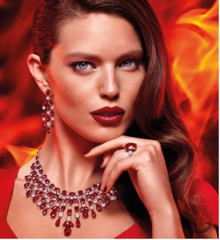 Graff ruby and diamond fire
