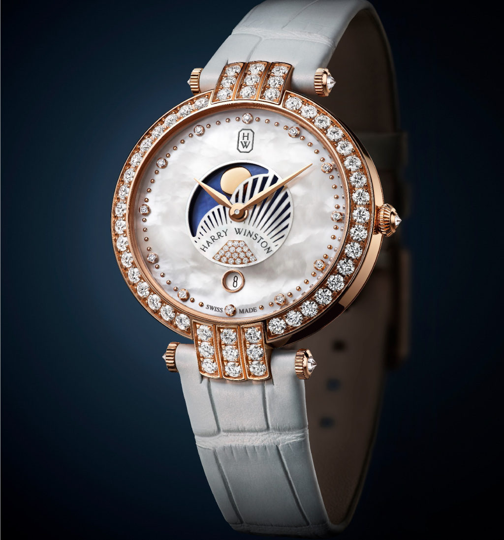 Harry Winston white women's watch