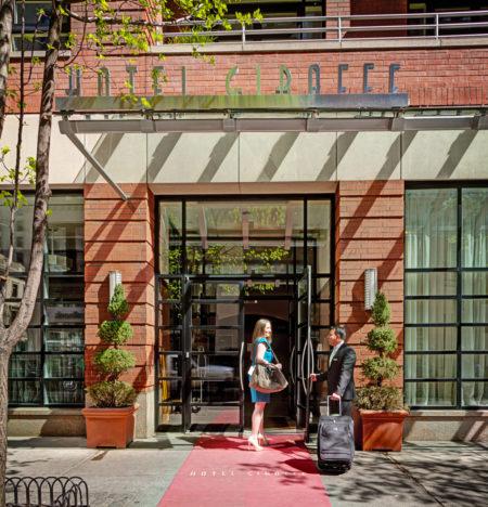 Hotel Giraffe entrance