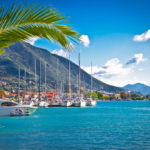 Nydri Harbour Lefkada Island Greece