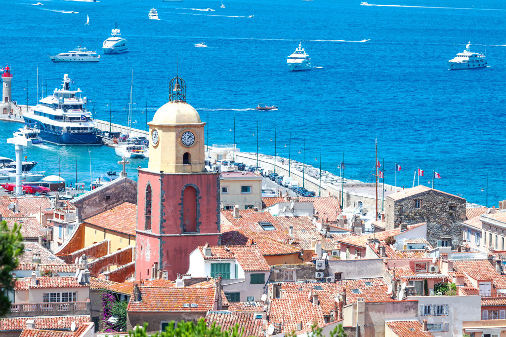 Saint Tropez france Coast