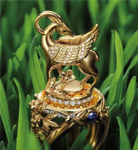 GOLD GAZELLE WINGS