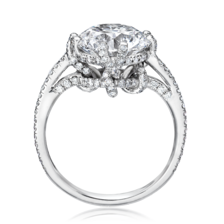 Golkonda vines diamond ring