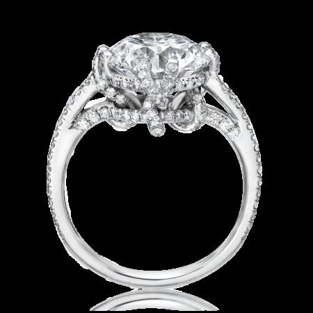 Golkonda vines diamond ring