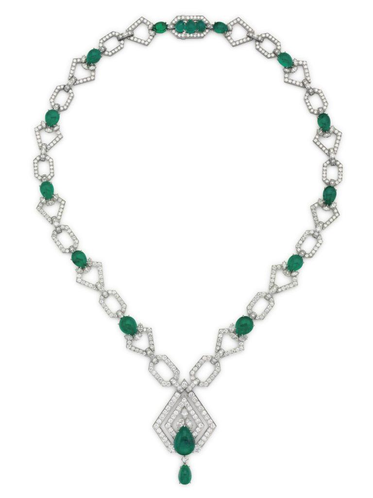 christies-lot-121-an-emerald-and-diamond-sautoir-by-david-webb
