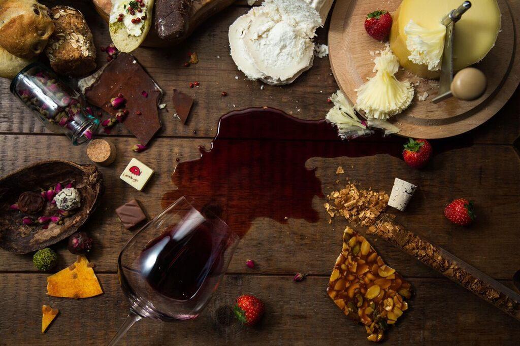 WINE CHEESE DESSERT