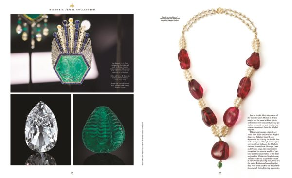 Al Thani jewels Spread