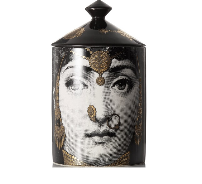 Fornasetti L'Eclaireuse face candle