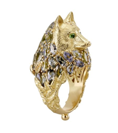 wolf ring temple st. clair