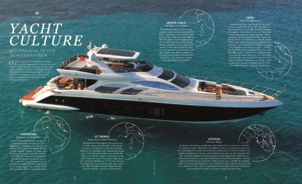yacht spread