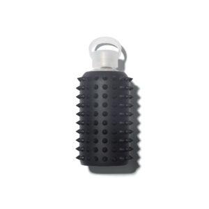 bkr-water-bottle-glass-spiked-jet-500ml