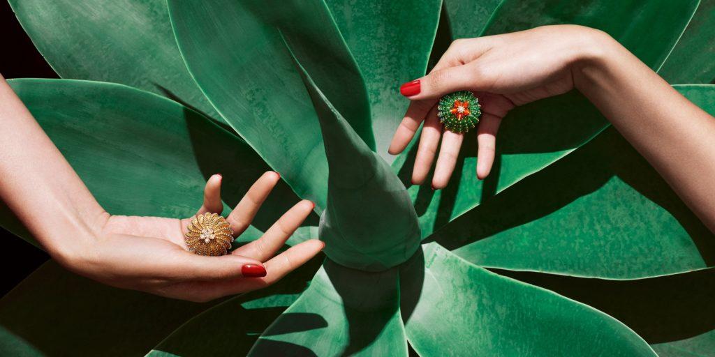 Cartier Du Cactus rings