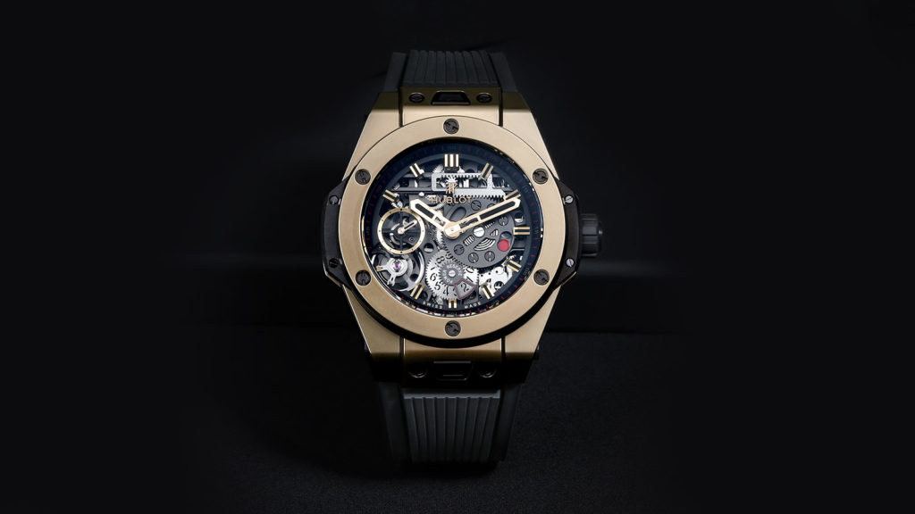 HUBLOT MECA 3 MAGIC GOLD WATCH