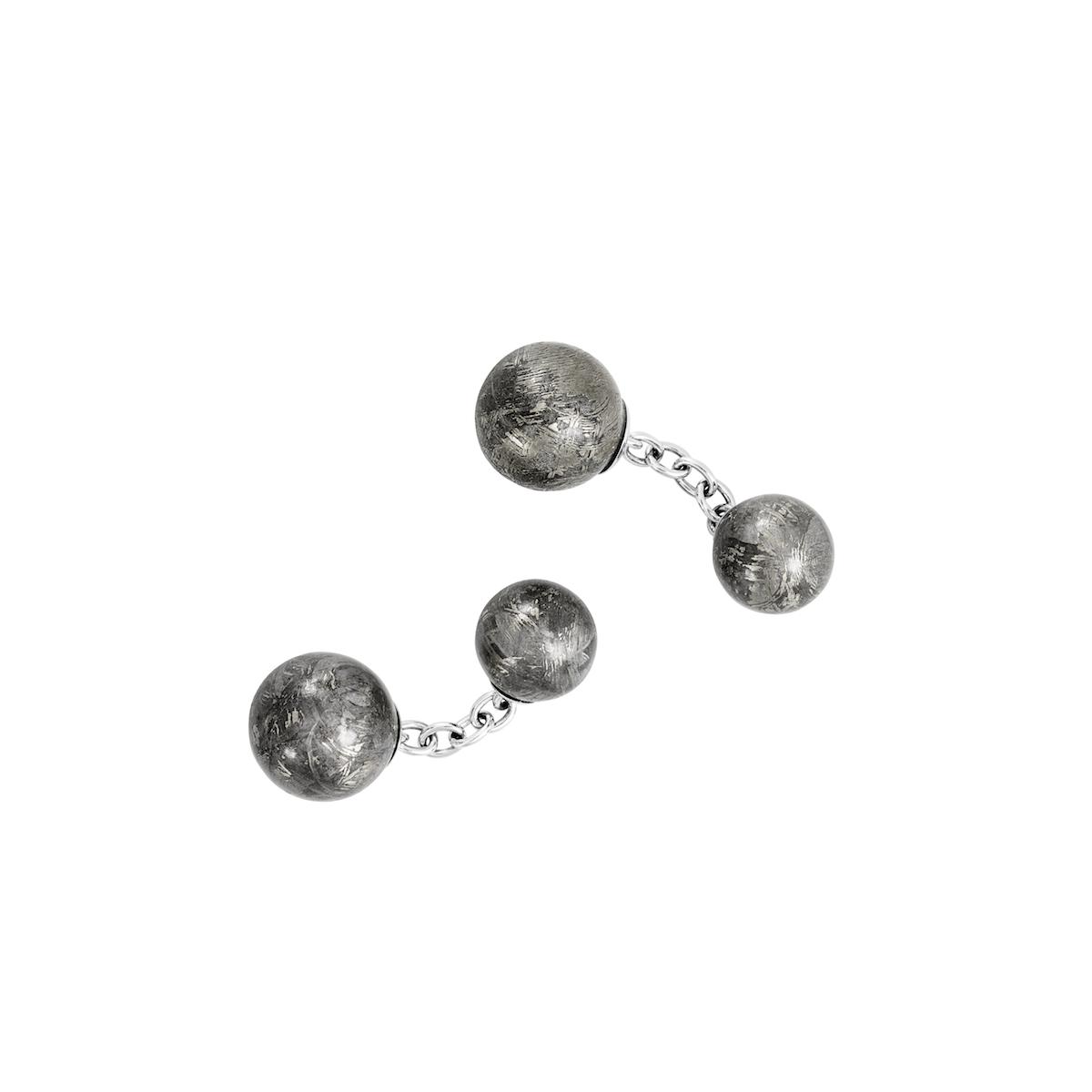 lorenz baumer meteorite cufflinks