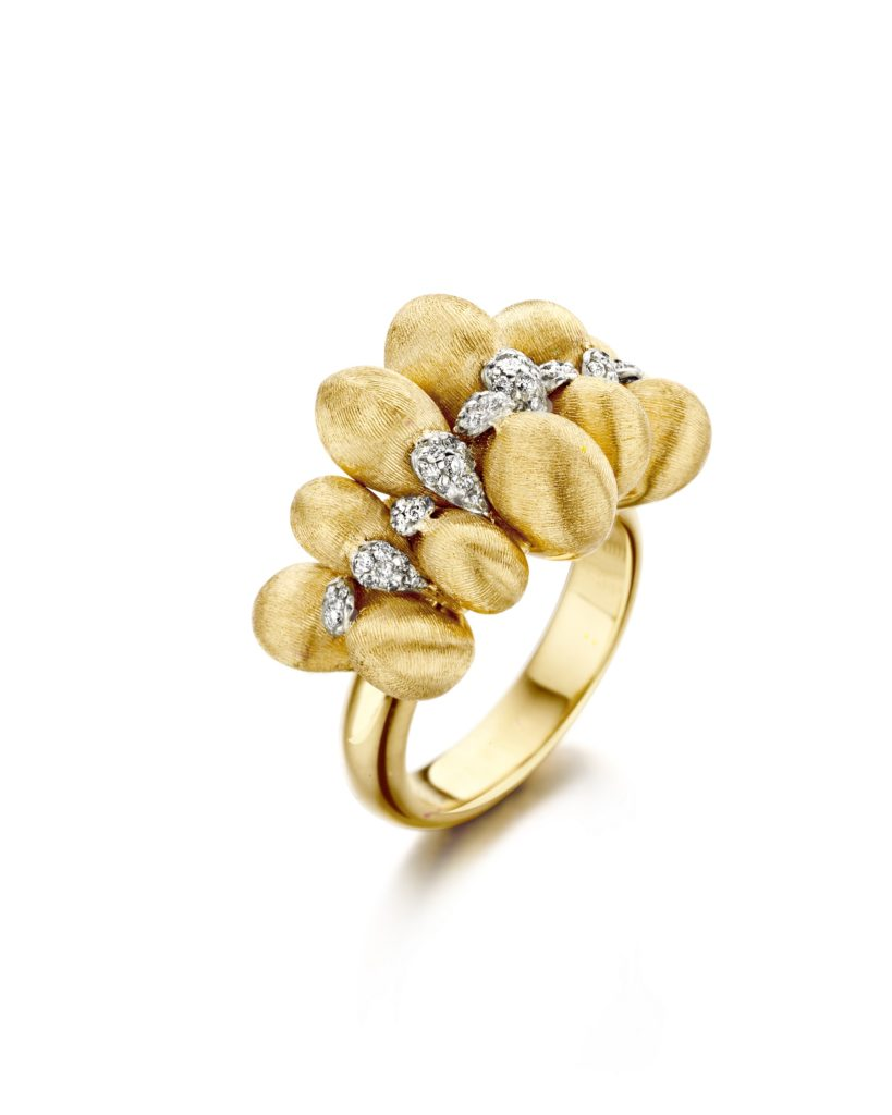 trasformiista nanis gold diamond ring pave