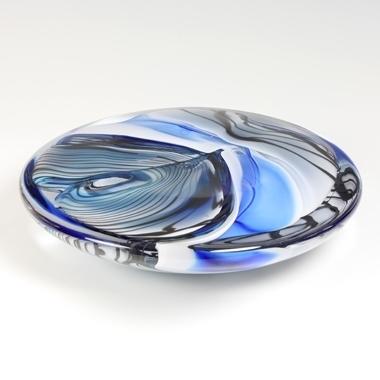 Fiaz Elson glass disc linear landscape