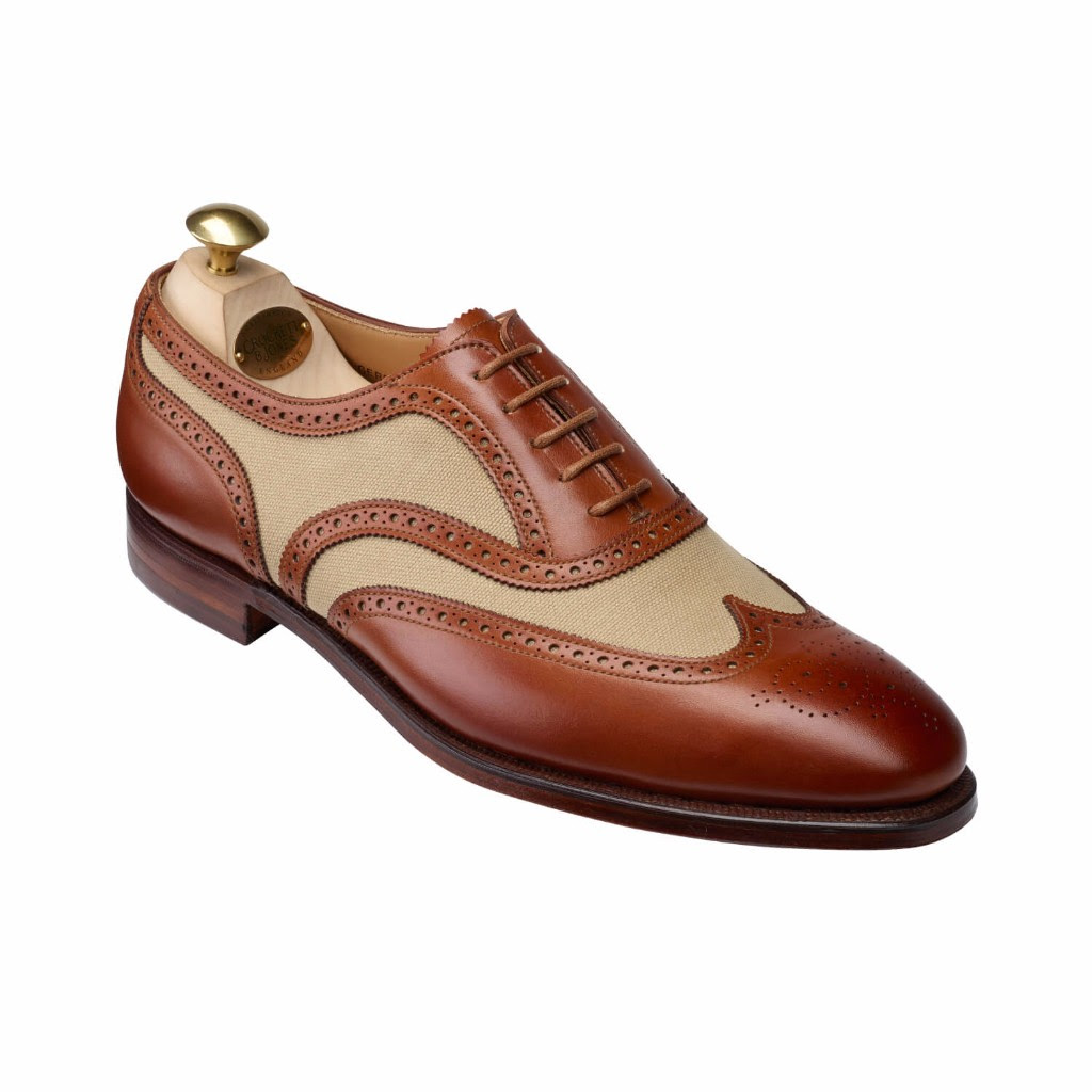 crockett and jones garrard IV shoe mahogany