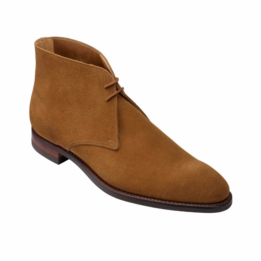 crockett and jones chuka boot hayle camel suede spring collection