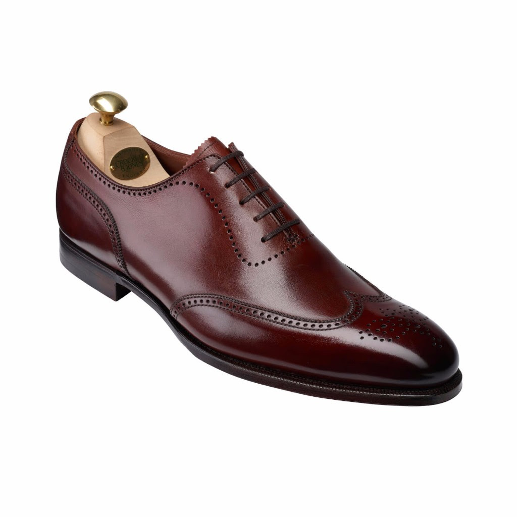 crockett and jones spring collection canterbury chestnut handgrade