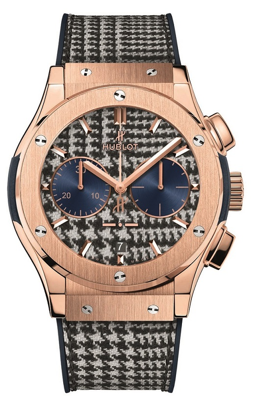 hublot prince of gaules pied de poule mens watch