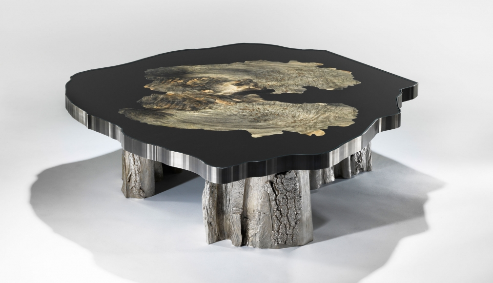maria pergay wood table