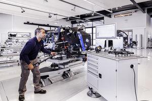 bugatti atelier mechanic