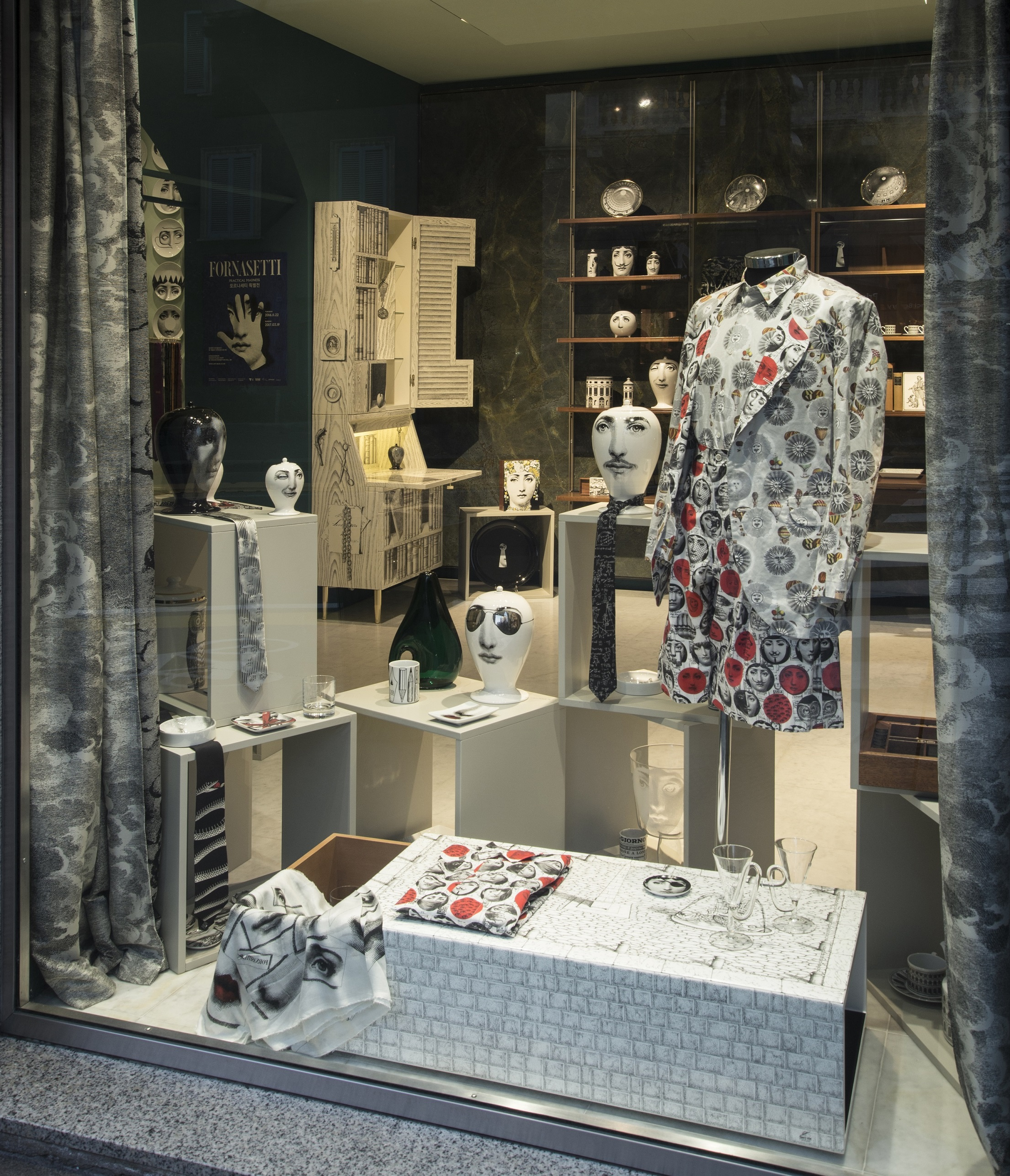 Comme des Gar+ºons at Fornasetti Store