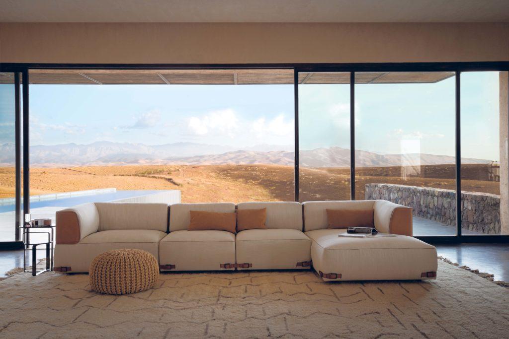Fendi Casa Soho sofa Ad 2