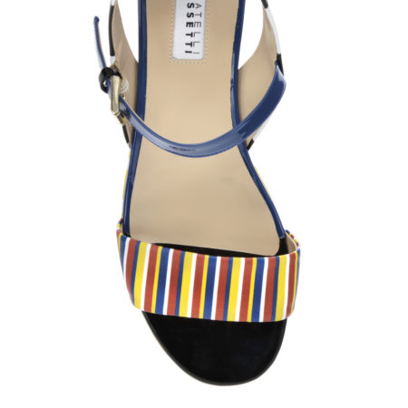 fratelli rossetti mumble mumble stripes on dsign sandal shoe