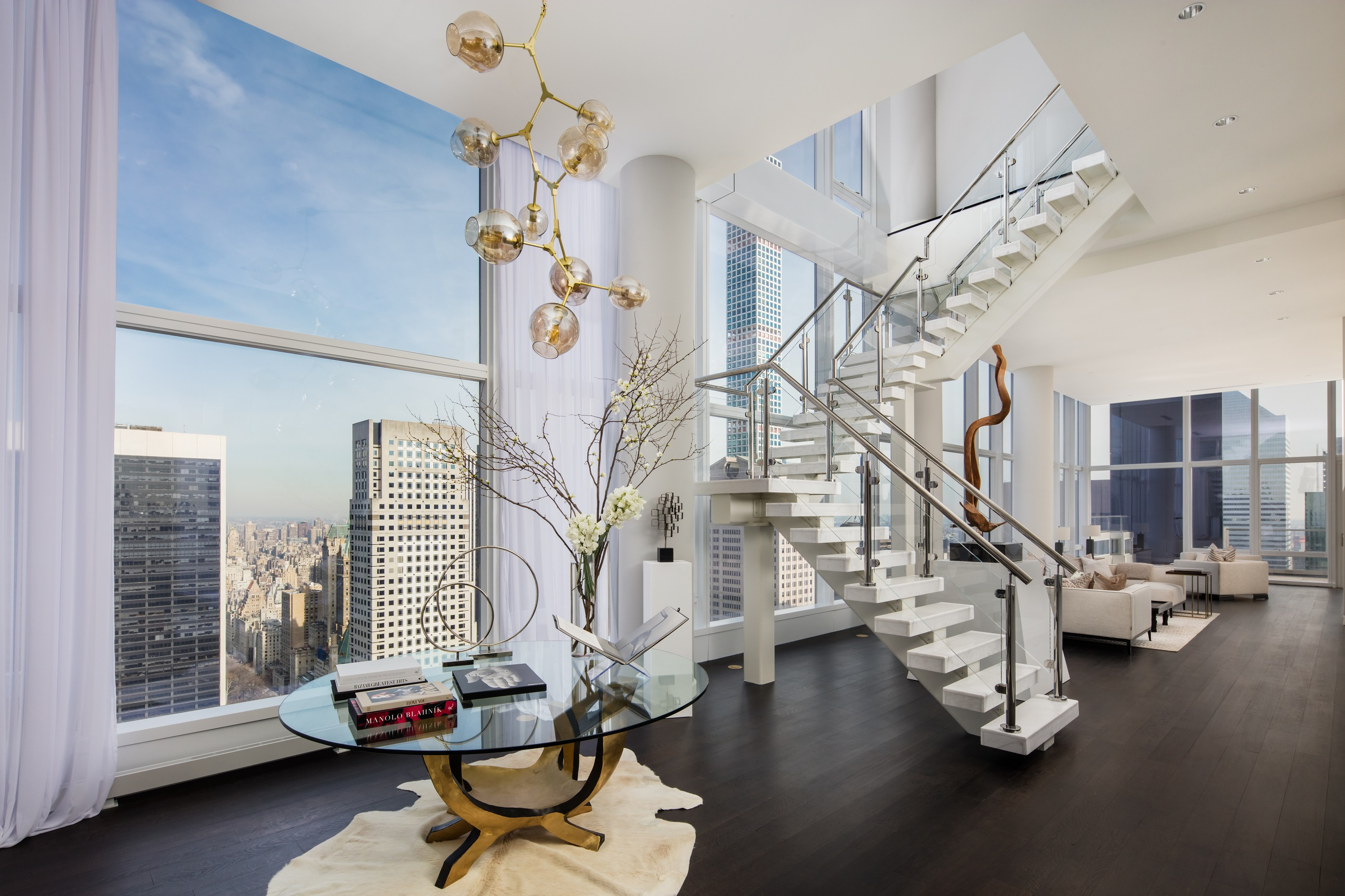 Baccarat Residences Foyer New York City