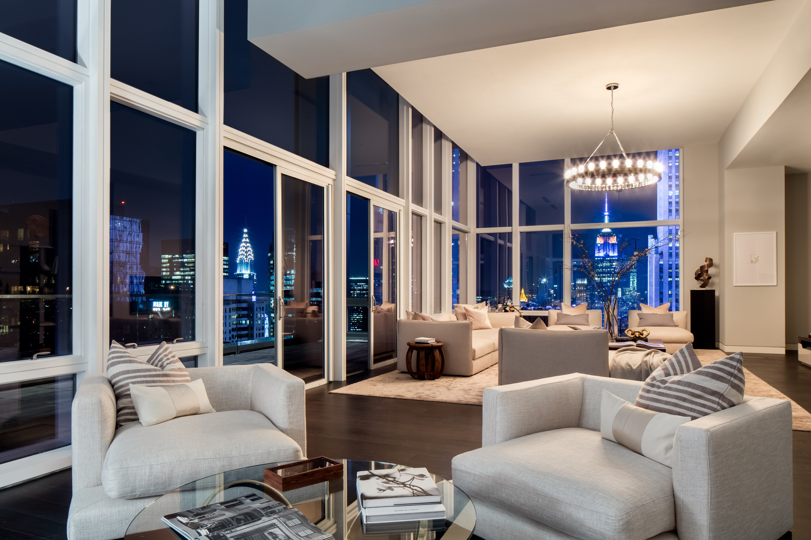 Baccarat Residences Family Room New York City