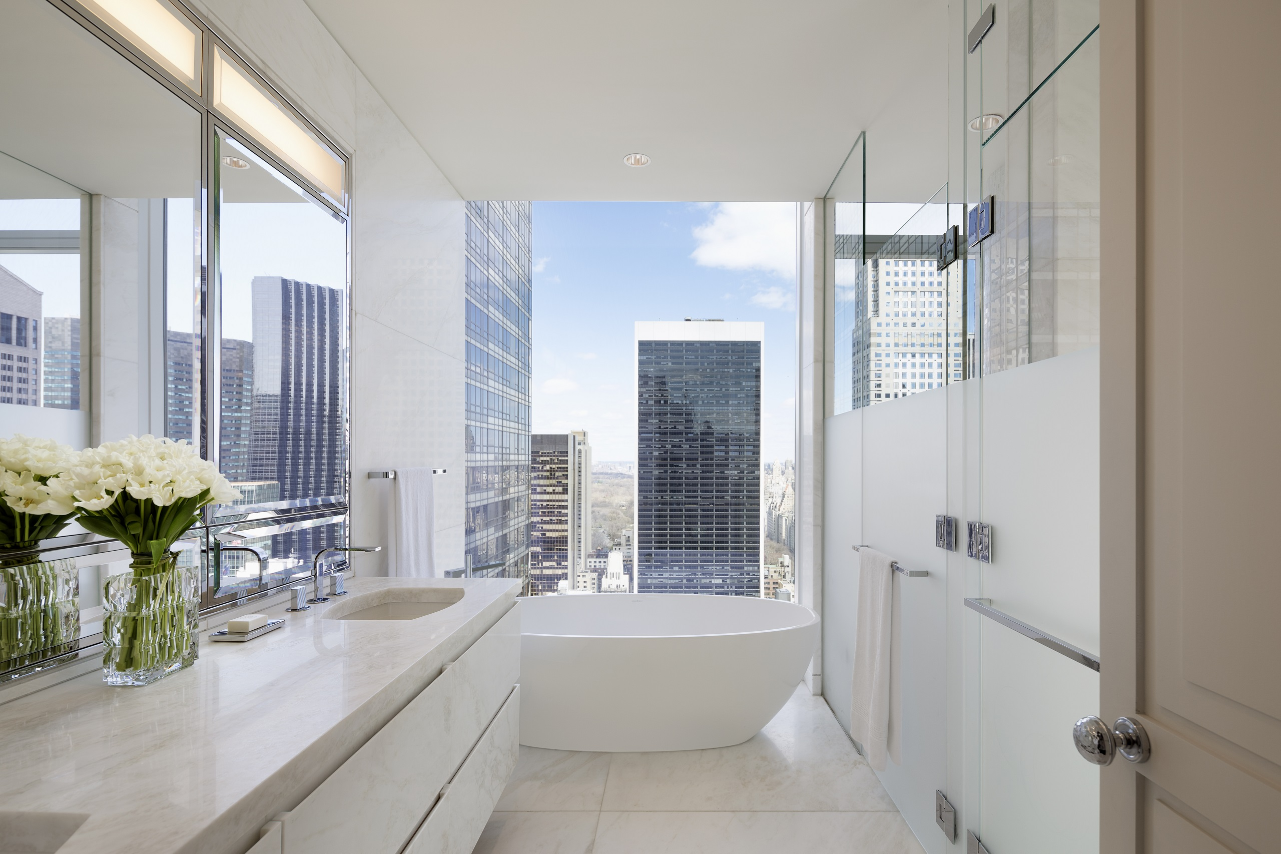 Baccarat Residences Bathroom New York City