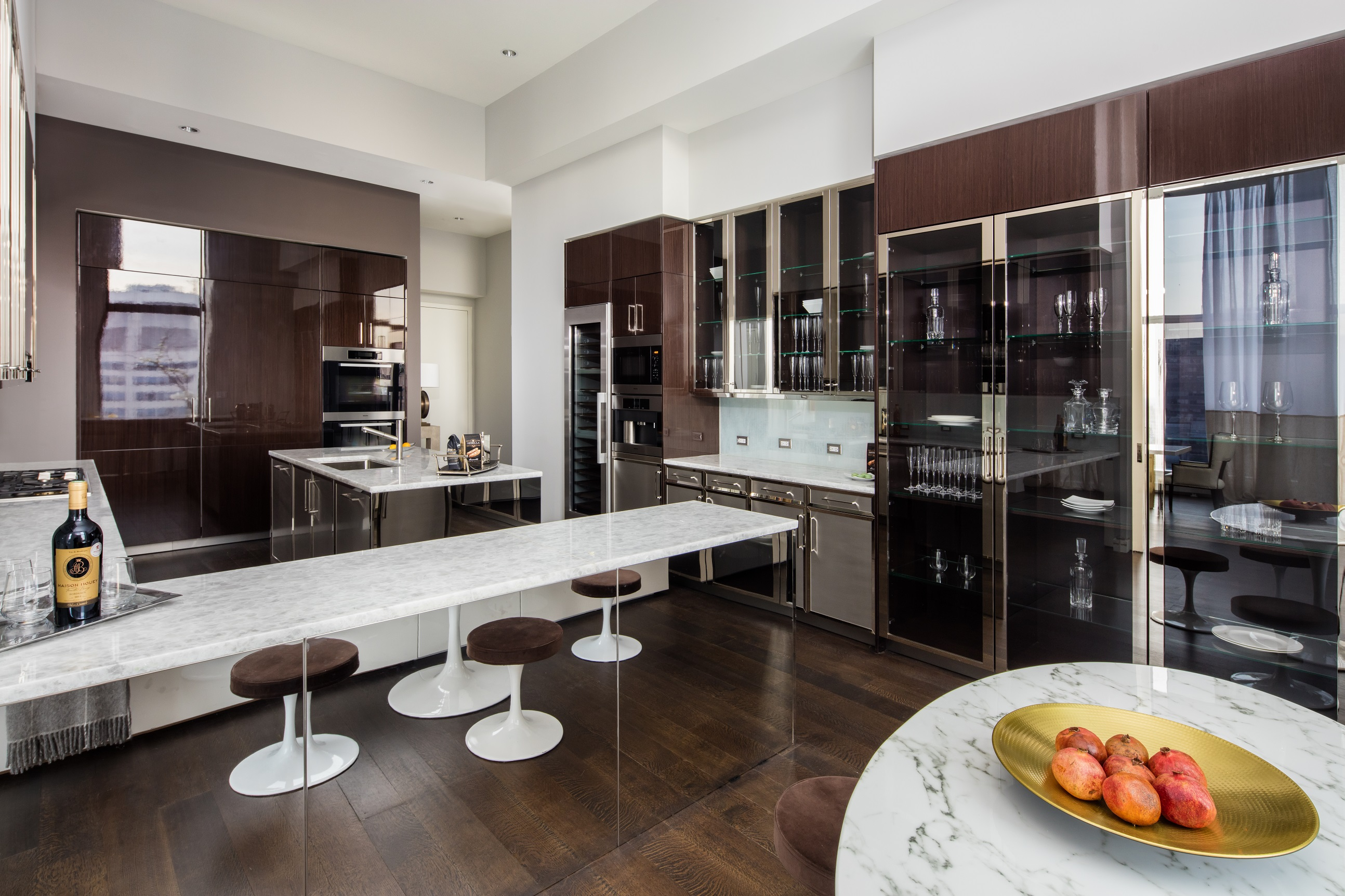 Baccarat Residences Kitchen New York City
