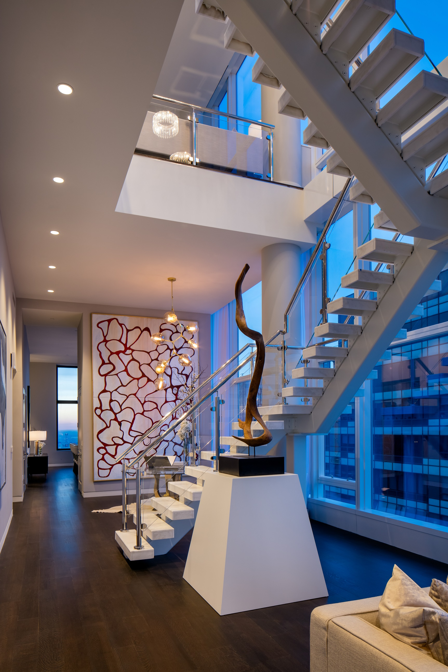 Baccarat Residences Foyer New York City