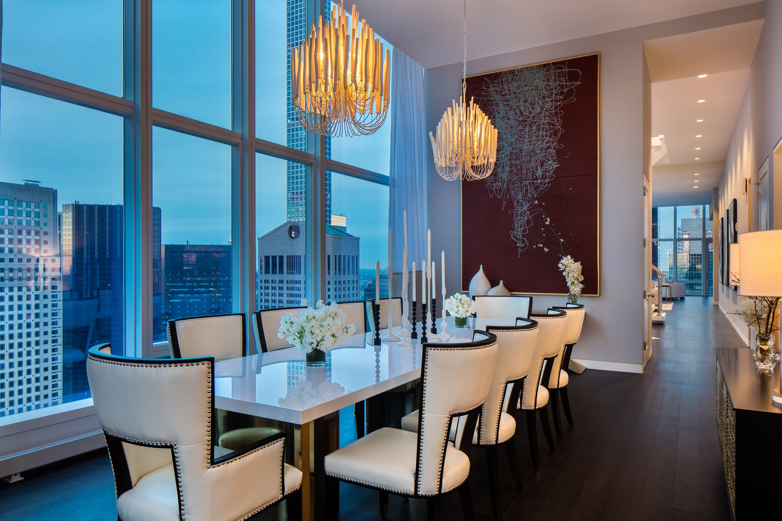 Baccarat Residences Dining Room New York City