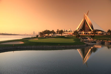 Dubai Creek Golf & Yacht Club SUNSET