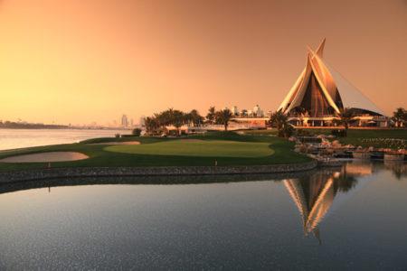 Dubai Creek Golf & Yacht Club SUNSET