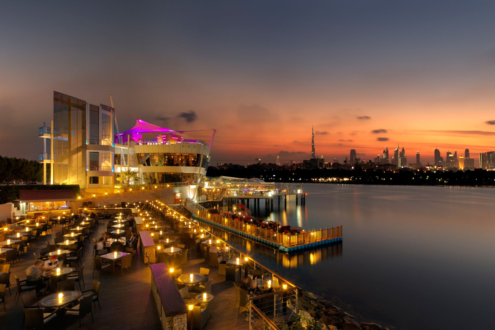 Dubai Creek Golf & Yacht Club Restaurant