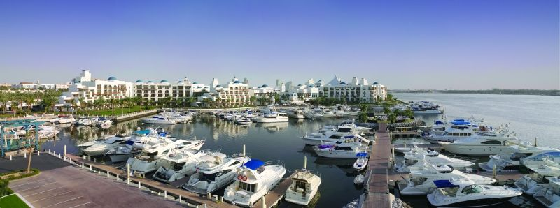 Dubai Creek Golf & Yacht Club Marina