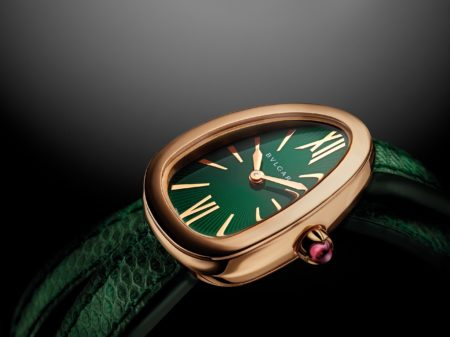 bulgari new serpenti womens watch green