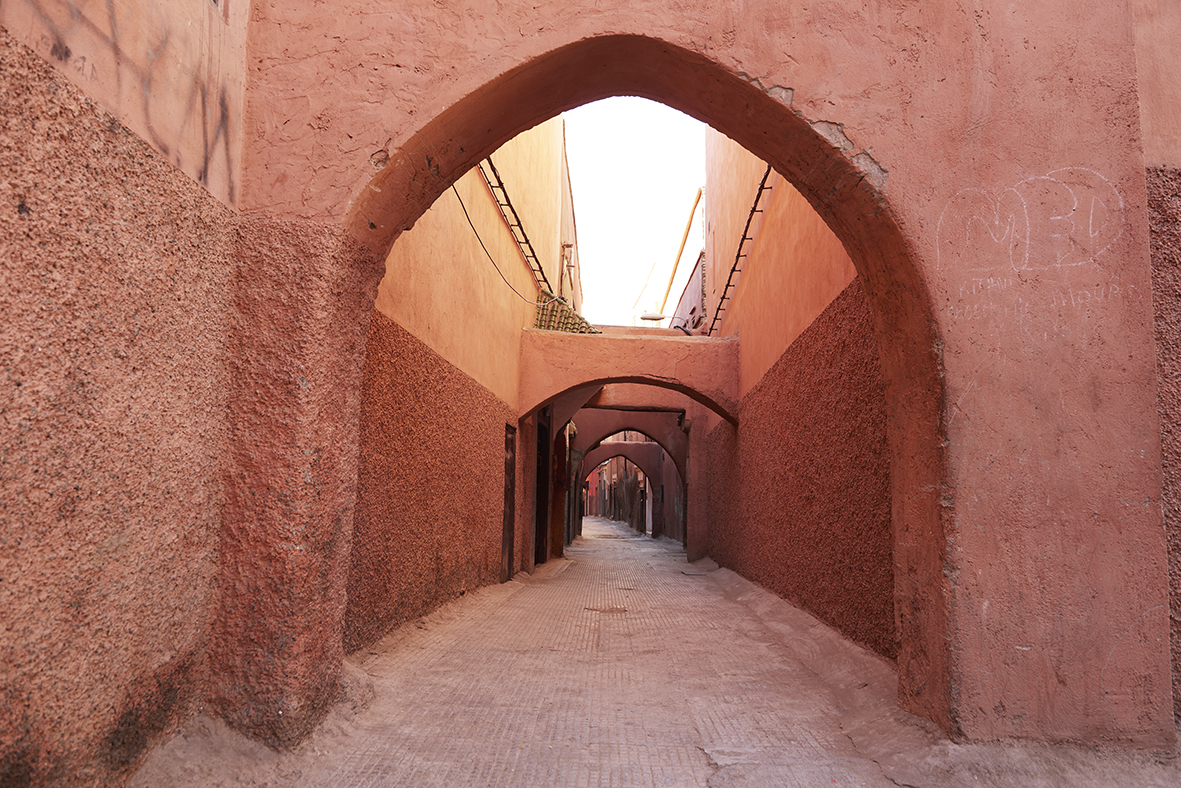 sunday somewhere marrakesh rose walls