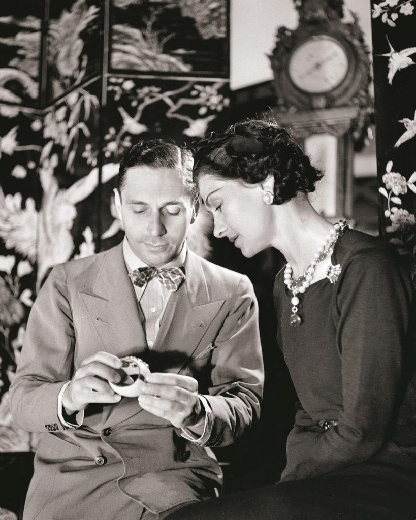 Fulco di Verdura & Coco Chanel, Paris, 1937
