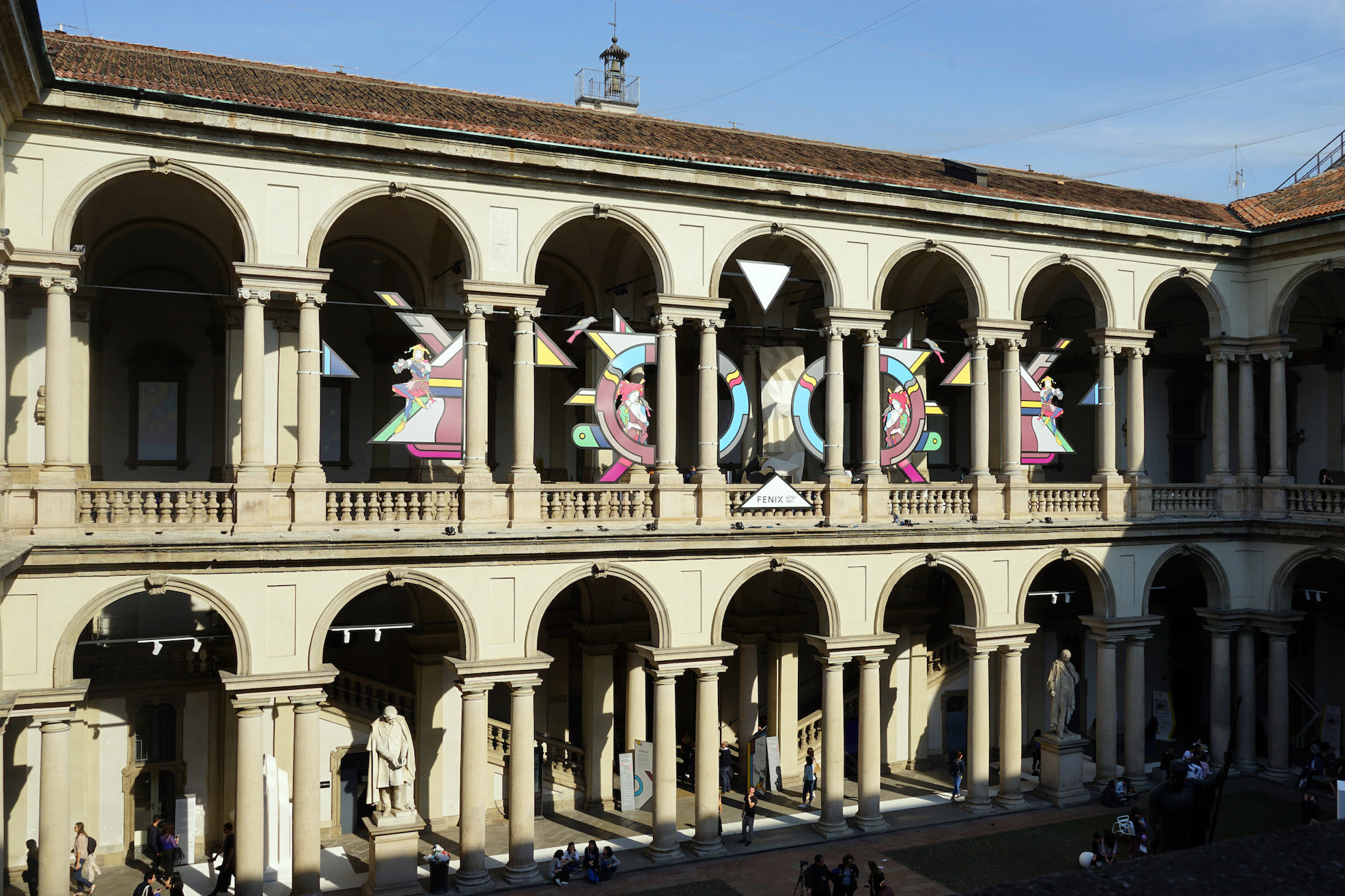MILAN DESIGN WEEK: FENIX NTM- ALCHEMYX AT THE PINACOTECA DI BRERA