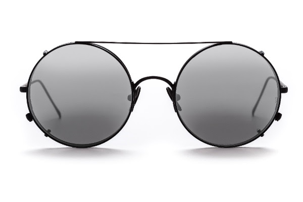 Sunday Somewhere Sunglasses Valentine Metal Matte Black