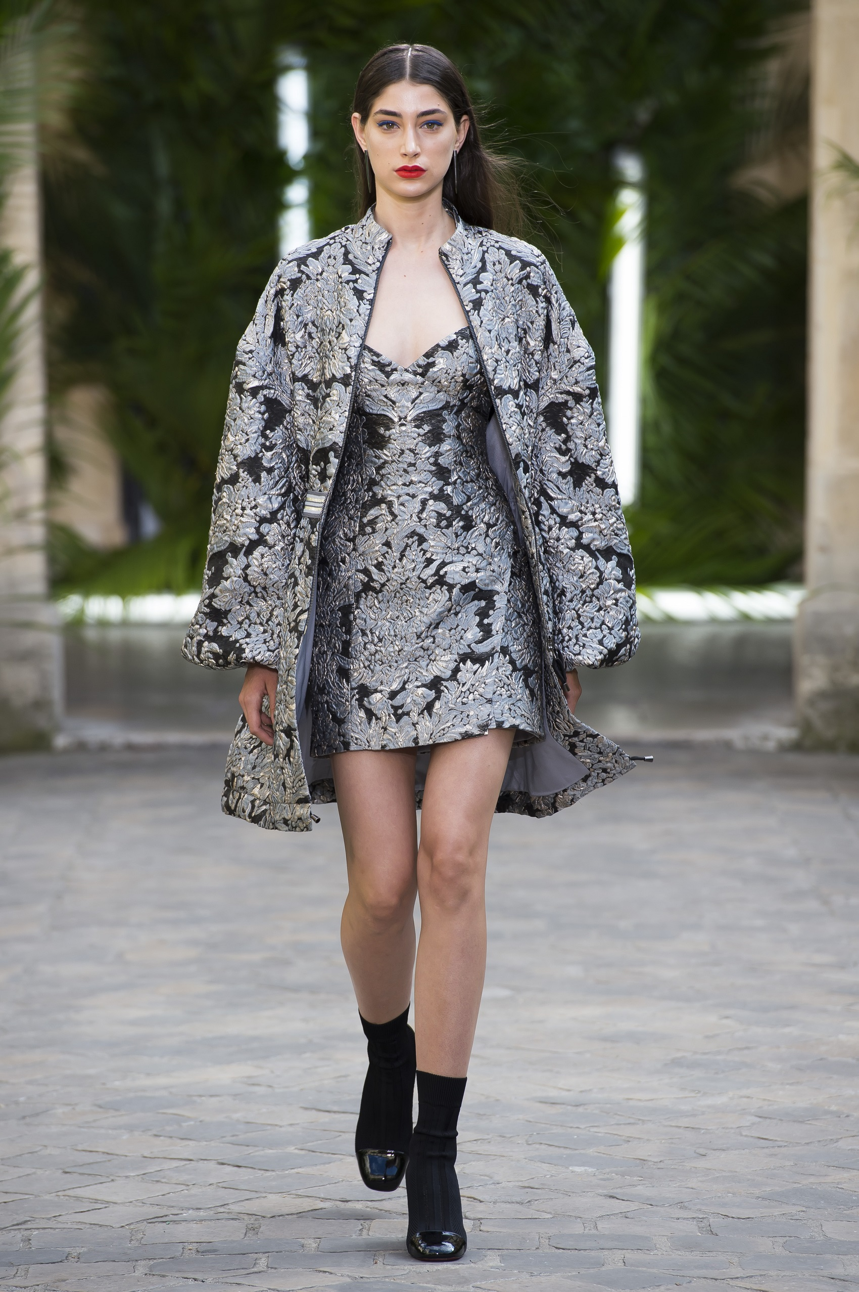 GALIA LAHAV LOTUS JUMPER JACKET & MINI SKIRT