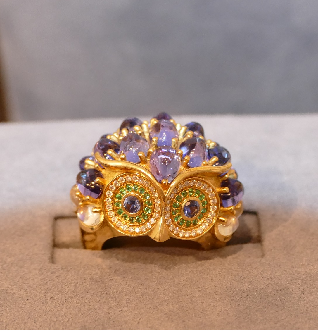 TEMPLE ST. CLAIR: OWL RING