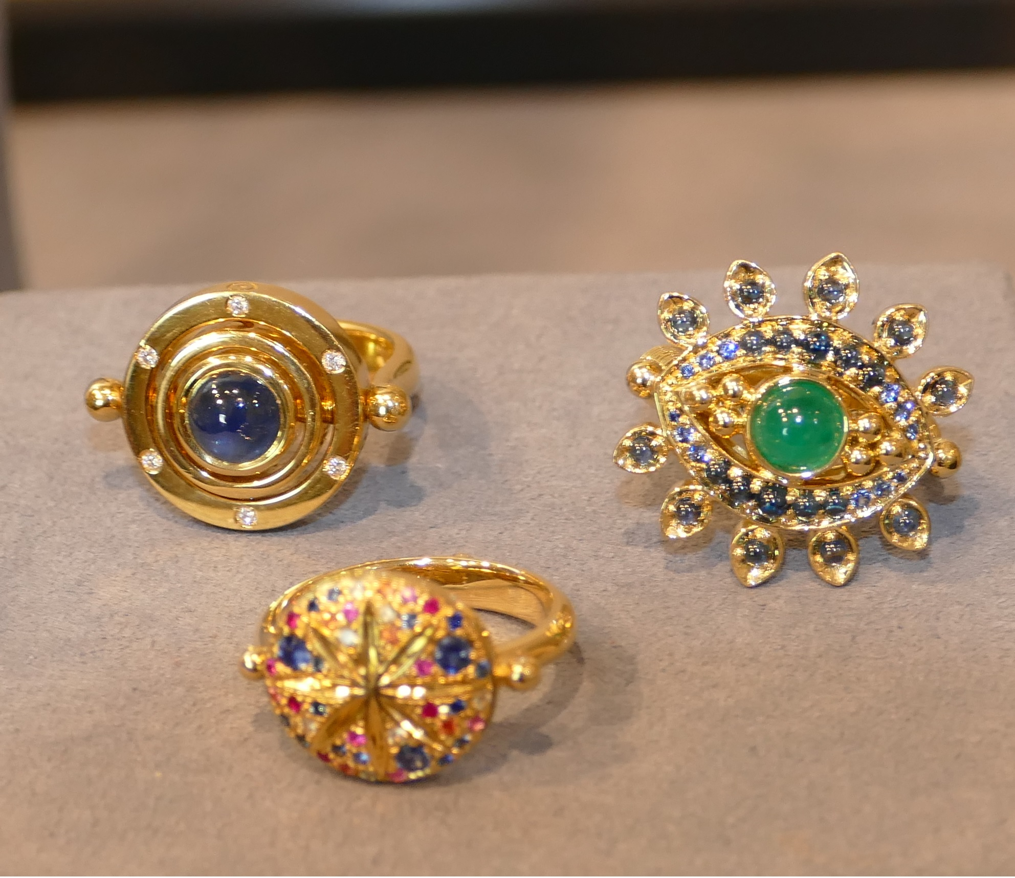 TEMPLE ST. CLAIR: EVIL EYE RING, SORCERER'S RING,