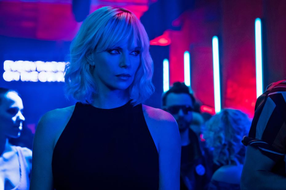 ATOMIC BLONDE: Charlize Theron