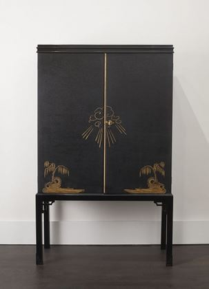 HOSTLER BURROWS: Swedish Cabinet - Circa 1930