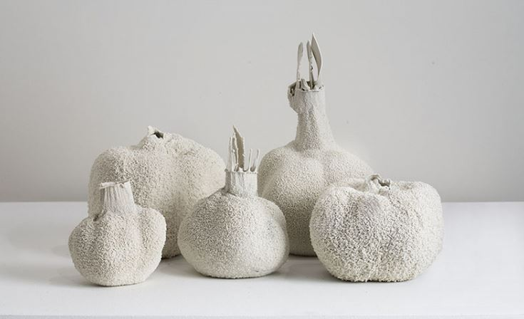 HOSTLER BURROWS: Michal Fargo - White Ceramics Collection